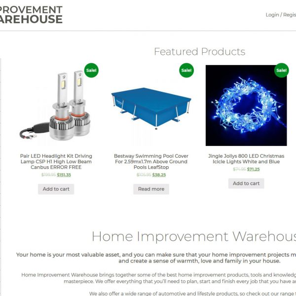 Home Improvement Warehouse